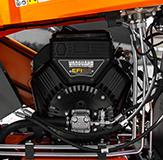 Als eerste fabrikant in Europa zal ELIET een versnipperaar uitrusten met een 23 pk Vanguard EFI motor.