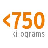 <750 kilograms