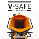 V-safe infeed hopper
